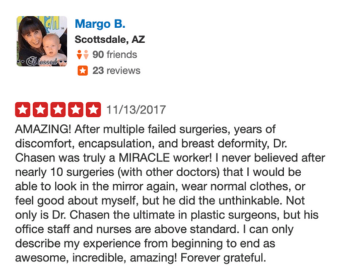 Margo B. Review